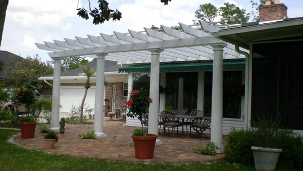Fiberglass Pillars For Outdoors : Round fiberglass porch columns curb appeal products