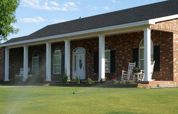 Square Fiberglass Porch Columns | Curb Appeal Products
