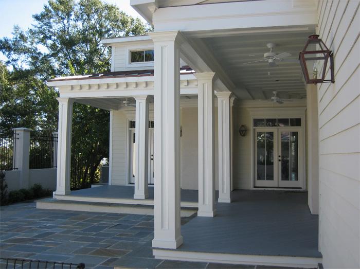 Pvc Porch Column Wraps Images