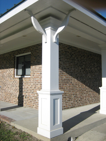 Decorative Metal Porch Posts Pictures To Pin On Pinterest