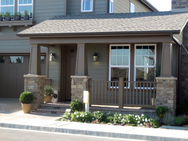 Tapered PVC Porch Columns | Curb Appeal Products
