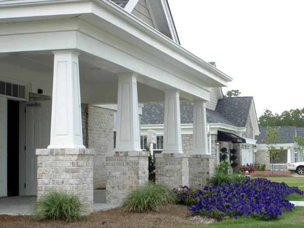 Tapered craftsman porch columns Craftsman columns