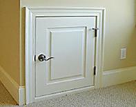 Custom Dormer Doors Open Up Attic Access Solutions Curb