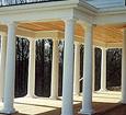 exterior load bearing columns