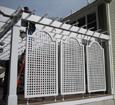 exterior pvc lattice