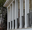 fluted pvc square porch columns