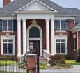 fluted round fiberglass porch columns