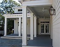 non tapered pvc porch columns