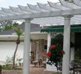 outdoor columns pergola