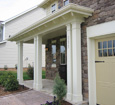 plain decorative porch column wraps