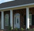 plain exterior fiberglass porch columns