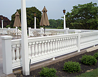 porch balustrade systems