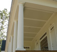 porch fiberglass column wraps