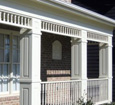raised panel exterior porch columns