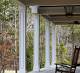 raised panel outdoor porch column