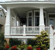 raised panel pedestal tapered pvc porch posts