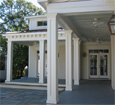 recessed panel pvc porch column