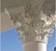roman corinthian round columns