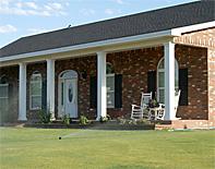 square fiberglass porch columns