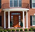 tuscan fiberglass exterior columns