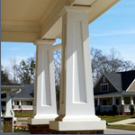 Porch Columns Square tapered